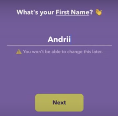 How to edit name in Itsme app?